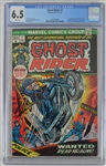 Ghost Rider 1973 Comic Book Inaugural Issue #1 CGC Graded 6.5