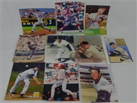 MLB Collection of 10 Autographed 8x10 Photos