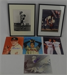MLB Collection of 6 Autographed Photos