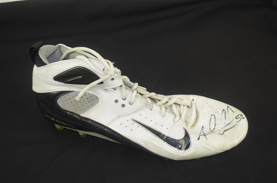 Andrew Gachkar Autographed Worn Shoe w/Signing Photo