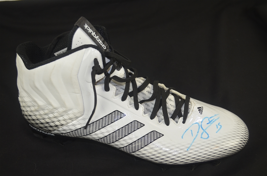 Devin Street Autographed Worn Shoe w/Signing Photo