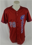 Calgary Cannons #28 Professional Model Jersey w/Medium Use