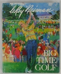 """Big Time Golf"" Hard Cover Book Signed by LeRoy Neiman"