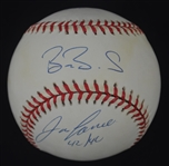 Alex Rodriguez Barry Bonds & Jose Canseco Autographed ONL 40/40 Club Baseball