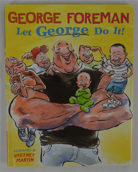 "George Foreman Autographed ""Let George Do It"" Hardcover Book"
