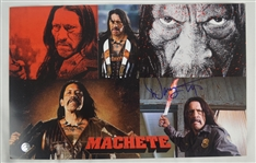 Danny Trejo 11x17 Machette Autographed Photo