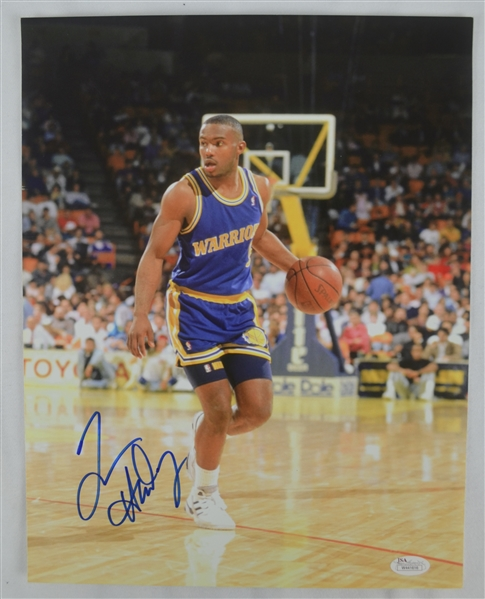 Tim Hardaway & Mike Conley Autographed Photos