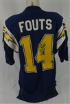 Dan Fouts c. 1985-86 San Diego Chargers Professional Model Jersey w/Heavy Use