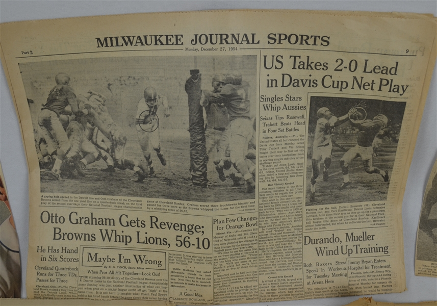 Vintage 1930's-1950's Newspaper Collection
