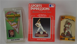 Mark McGwire Collection w/Sports Impression Figurine