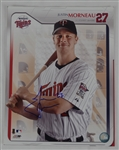 Justin Morneau Minnesota Twins Autographed 11x14 Photo