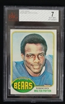 Walter Payton 1976 Topps Rookie Card #148 BVG 7 Near Mint
