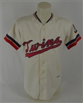 Steve Braun 1973 Minnesota Twins Professional Model Jersey w/Heavy Use