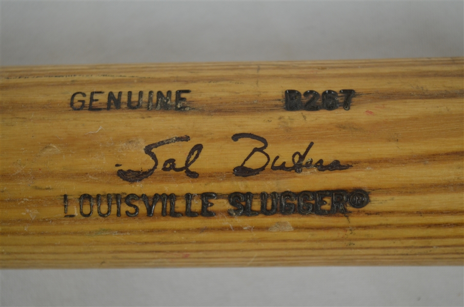 Sal Butera 1987 Minnesota Twins Professional Model Bat w/Medium Use