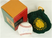 Michael Jordan UDA Signed Baseball w/Original Box