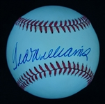 Ted Williams Autographed Baseball PSA/DNA 8 NM-MT
