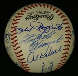 Roberto Clemente Autographed 1960s Hall of Fame Baseball w/DiMaggio & Mays JSA LOA
