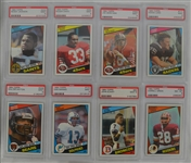 1984 Topps Football Card Set w/Marino & Elway PSA 9 Rookies