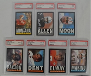 1985 Topps Football Card Set PSA Graded