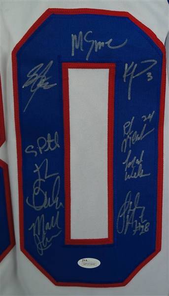 Team USA 1980 Olympic Gold Medal Team Signed Jersey