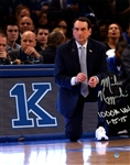 Mike Krzyzewski RARE Autographed 1000th Win 11x14 Inscribed Photo