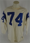 Merlin Olsen 1970-71 Los Angeles Rams Professional Model Jersey w/Heavy Use MEARS LOA