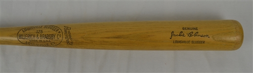 Jackie Robinson Vintage Signature Model Louisville Slugger Store Model Bat
