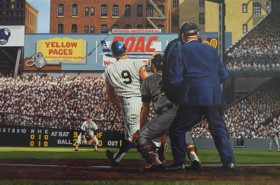 Roger Maris's 61st Home Run Limited Edition Lithograph