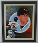Cal Ripken Jr. Original Oil Painting by Leon Wolf