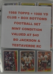 1988 Topps Football Card Set