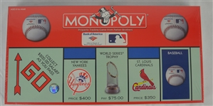 Vintage Monopoly Baseball Game Unopened