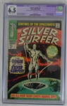 Silver Surfer October 1968 Inaugural Issue Marvel Comic Book Graded CGC 6.5
