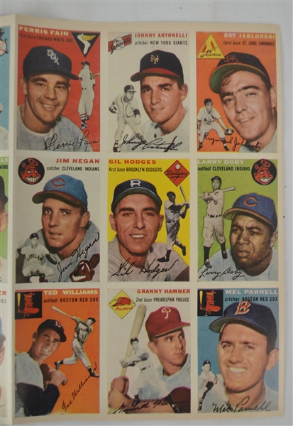 Sports Illustrated 1954 First Issue Ever Printed w/Original Mailing Envelope & Cards Attached