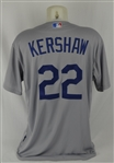 Clayton Kershaw 2015 Los Angeles Dodgers Professional Model Jersey w/Medium Use