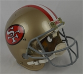 Joe Montana c. 1980s San Francisco 49ers Professional Model Helmet w/Heavy Use