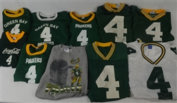 Brett Favre Vintage Jersey Collection