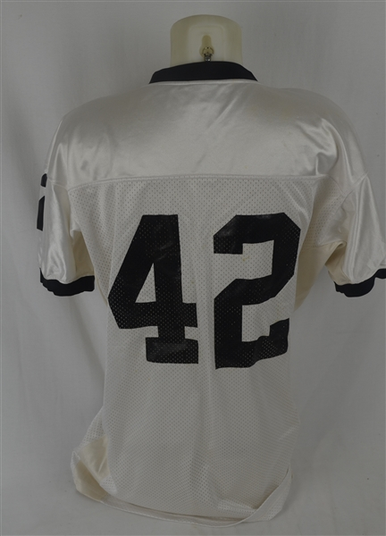 Friday Night Lights 2004 Chris Comer Screen-Worn Permian Panthers Game Jersey & Cleats