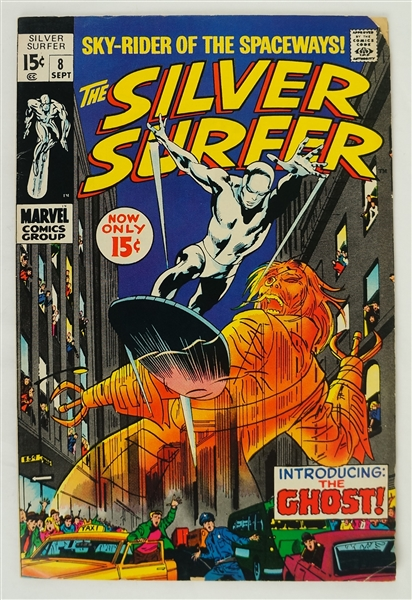 Silver Surfer September 1969 Marvel Comic Book Issue #8