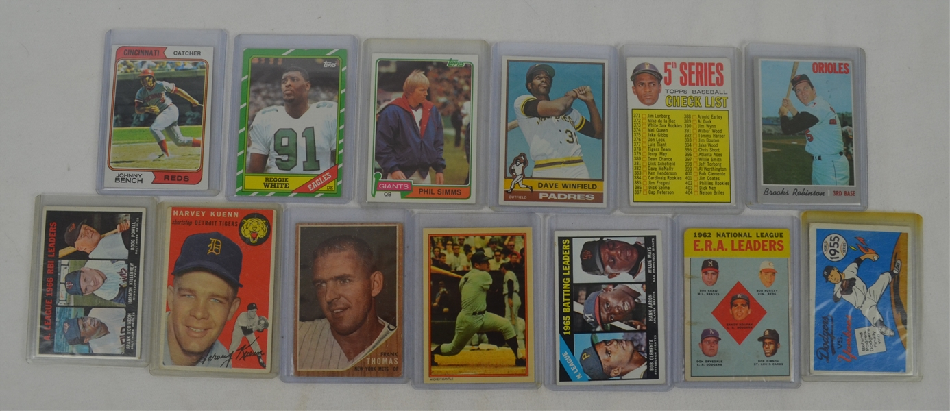 Collection of 13 Vintage Cards