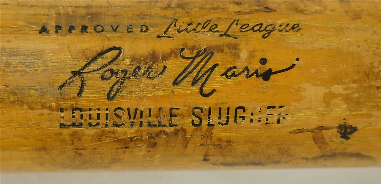 Roger Maris Louisville Slugger Store Model Bat