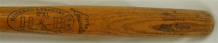 Ernie Banks Louisville Slugger Store Model Bat