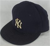 Billy Martin c. 1975-79 New York Yankees Game Used Hat w/Dave Miedema LOA