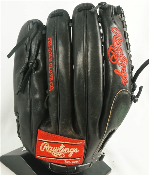 Mike Trout 2015 Los Angeles Angels Rawlings Professional Model Fielding Glove