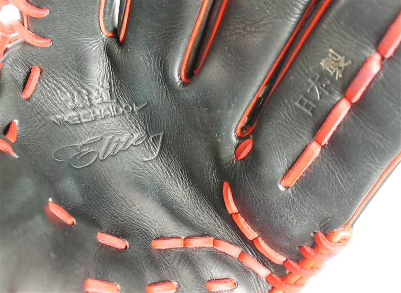 Mike Trout 2015 L.A. Angels Nike SHA|DO Elite J Professional Model Fielding Glove w/Letter of Provenance & Original Shipping Box