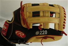 Bryce Harper 2015 Washington Nationals Rawlings #220 Professional Model Fielding Glove