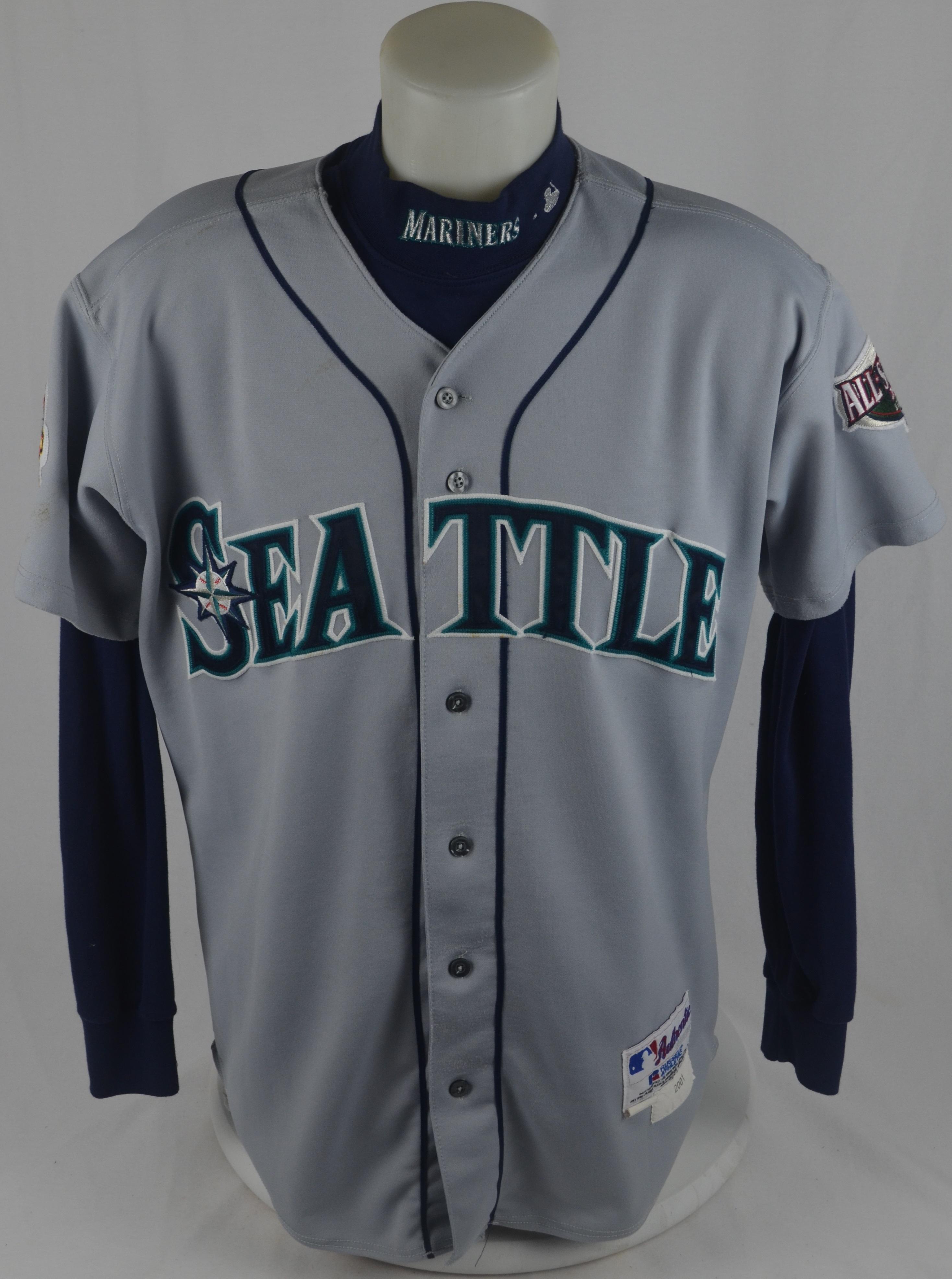 promo code f03f4 8ed6a Lot Detail - Ichiro Suzuki 2001 Seattle Mariners Game Used ...