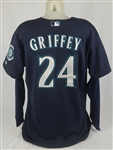 Ken Griffey Jr. 2009 Seattle Mariners Game Used Jersey w/Dave Miedema LOA