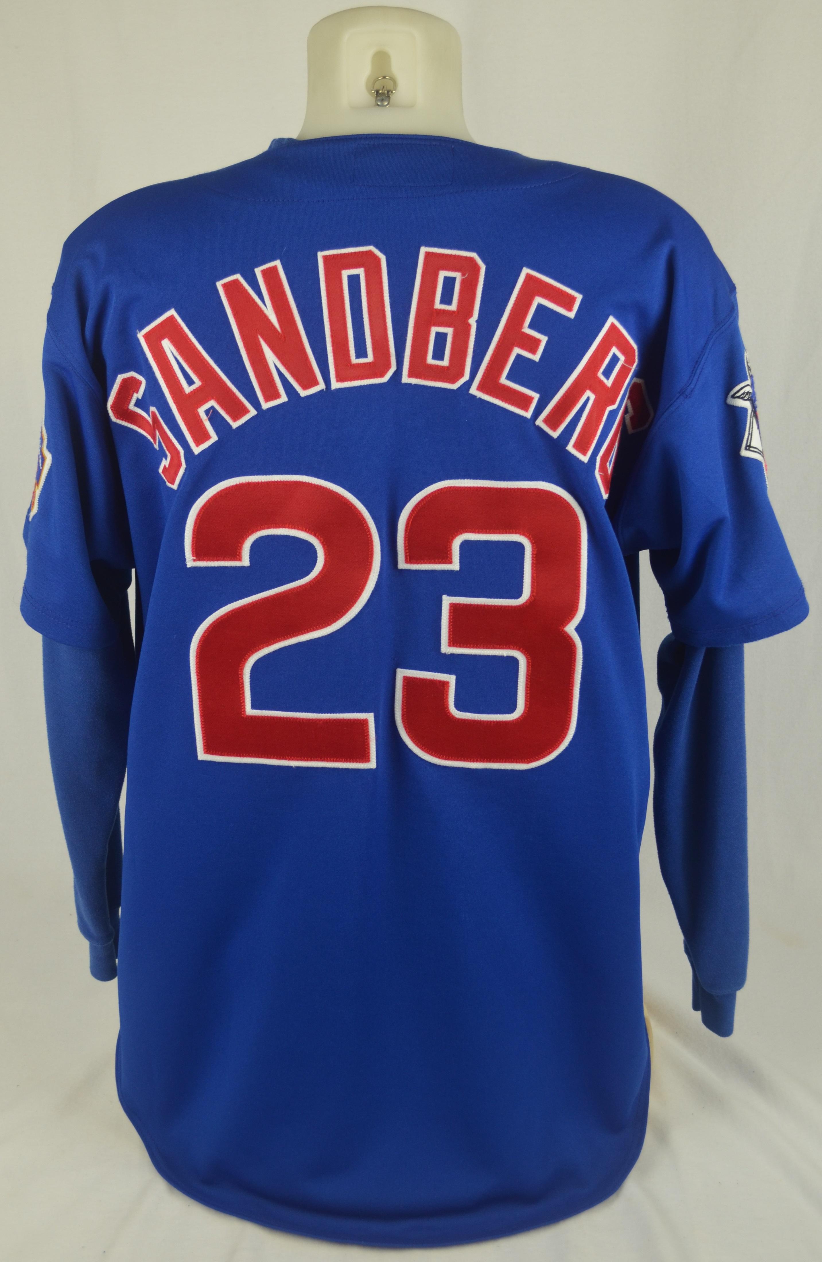 watch 6458c ca7f1 Lot Detail - Ryne Sandberg 1997 Chicago Cubs Game Used ...
