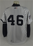 Andy Pettitte 2000 World Series New York Yankees Game Used Jersey w/Dave Miedema LOA