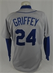 Ken Griffey 1992 Seattle Mariners Game Used Jersey w/Dave Miedema LOA
